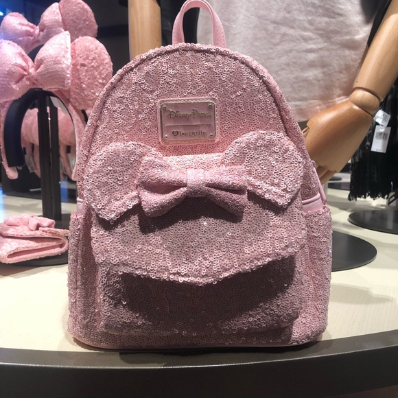 0d54f2982d1 Millennial pink mini mouse backpack